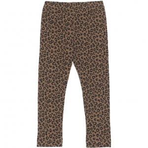 Chocolate Leopard Legging  van Maed For Mini