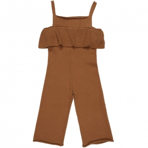 Busy Bear Knit Jumpsuit van Maed For Mini