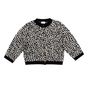 Cardigans Snow Leopard Aop van Maed For Mini
