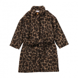 Coat Leading Leopard Aop van Maed For Mini
