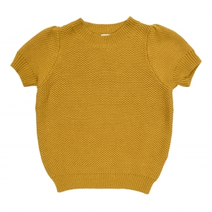 Golden Grasshopper Knit Top van Maed For Mini