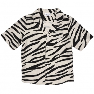 Smiling Zebra Blouse van Maed For Mini
