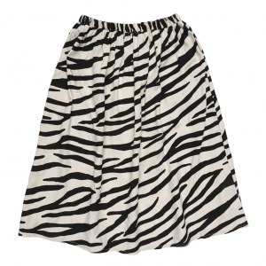 Smiling Zebra Long Skirt van Maed For Mini