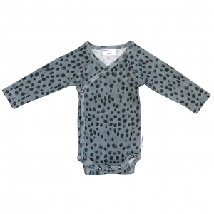 Wrap Body Lazy Leopard Aop  van Maed For Mini