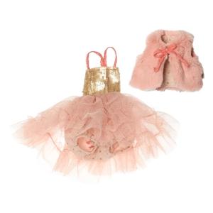 134824f8cebe78 Sold Best Friends Ballerina Dress Rose van Maileg