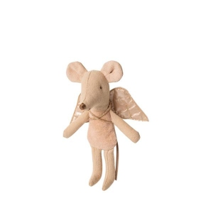 Fairy Mouse Little Sister - Roze van Maileg