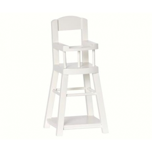 High Chair For Micro Off White van Maileg