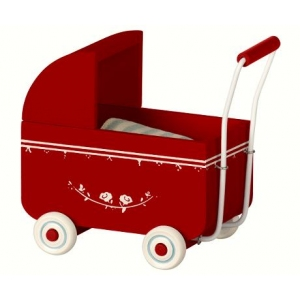 My Pram Red van Maileg