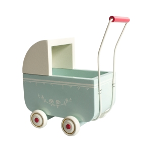 My Pram Light Blue van Maileg