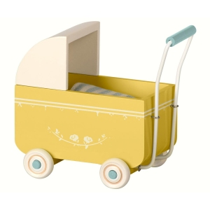My Pram Yellow van Maileg