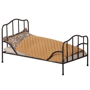 Vintage Bed Mini Anthracite van Maileg