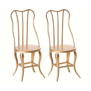Vintage Chair Micro Gold 2-Pack van Maileg