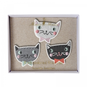 Cat Brooches van Meri Meri