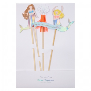 Let's Be Mermaids Cake Toppers van Meri Meri
