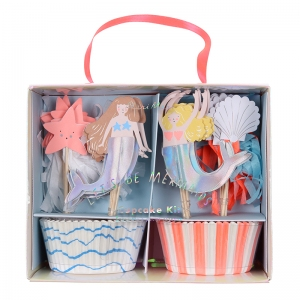 Lets Be Mermaids Cupcake Kit van Meri Meri