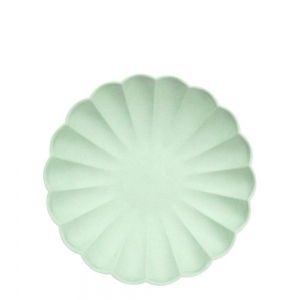 Mint Simply Eco Plate Small van Meri Meri