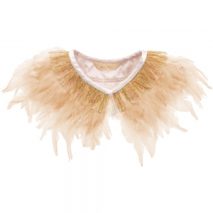 Peach Feather Capelet van Meri Meri