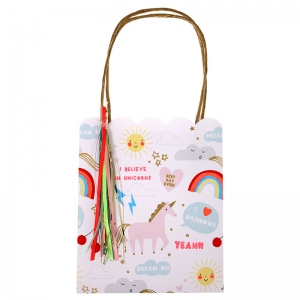 Rainbow And Unicorns Party Bags van Meri Meri