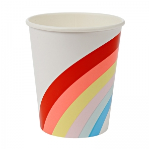 Rainbow Party Cups van Meri Meri