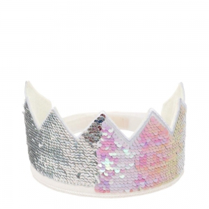 Reverse Sequin Crown van Meri Meri