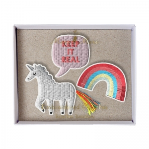 Unicorn Brooches van Meri Meri