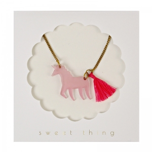 Unicorn Necklace van Meri Meri