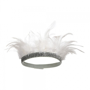 White Feather Crown van Meri Meri