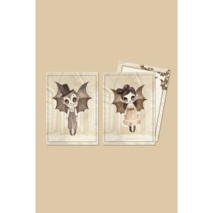 2 Pack Card-Boo Twins van Mrs. Mighetto