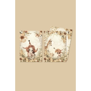 2 Pack Cards-The Floral Glade van Mrs. Mighetto