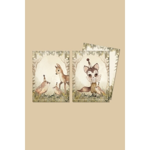 2 Pack Cards-The Green Glade van Mrs. Mighetto