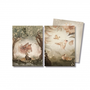 Cards Woods And Birds 2 Pack van Mrs. Mighetto