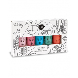 Nailmatic kids city 5-pack van Nailmatic kids