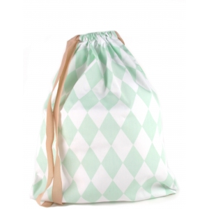 Florencia Backpack Green Diamonds van Nobodinoz