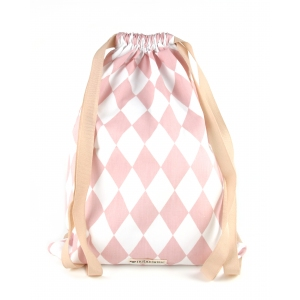 Florencia Backpack Pink Diamonds van Nobodinoz