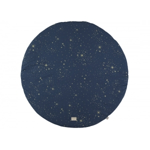 Full Moon Round Playmat New Elements Gold Stella Night Blue van Nobodinoz
