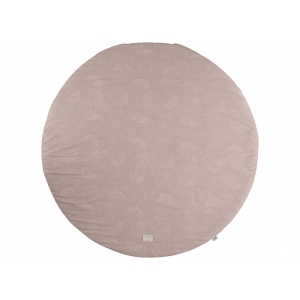 Full Moon Round Playmat New Elements White Bubble Misty Pink van Nobodinoz
