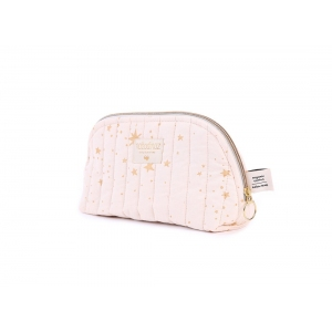 Holiday Vanity Case New Elements Gold Stella Dream Pink van Nobodinoz