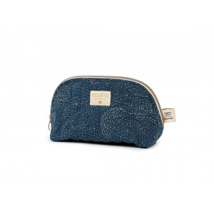 Holiday Vanity Case New Elements Gold Bubble Night Blue van Nobodinoz