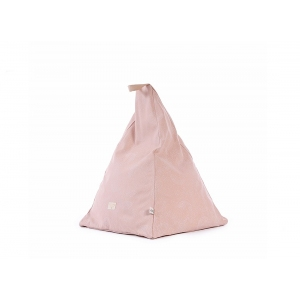 Keops beanbag new elements white bubble misty pink van Nobodinoz