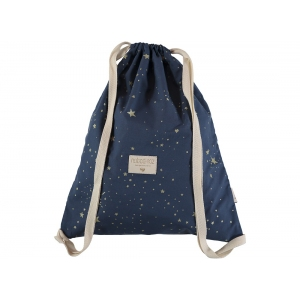 Koala Backpack New Elements Gold Stella Night Blue Natural van Nobodinoz