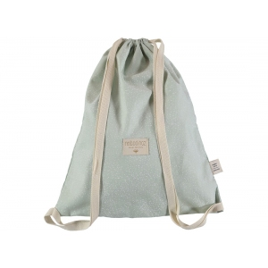 Koala Backpack New Elements White Bubble Aqua van Nobodinoz