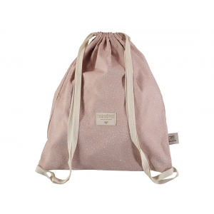 Koala Backpack New Elements White Bubble Misty Pink van Nobodinoz