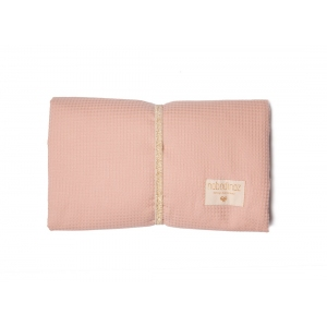 Mozart Waterproof Changing Pad Misty Pink  van Nobodinoz