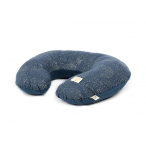 Nursing Pillow Sunrise New Elements Gold Bubble Night Blue van Nobodinoz
