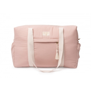 Opera Waterproof Maternity Bag Misty Pink van Nobodinoz