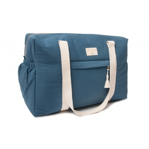 Opera Waterproof Maternity Bag Night Blue van Nobodinoz