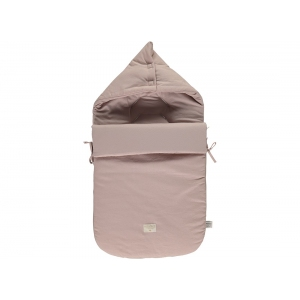 Passegiata Foot Muff Honeycomb New Elements Misty Pink van Nobodinoz