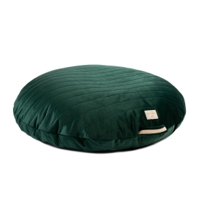 Sahara Velvet Beanbag Jungle Green van Nobodinoz