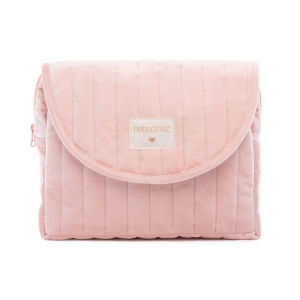 Savanna Velvet Maternity Case Bloom Pink van Nobodinoz