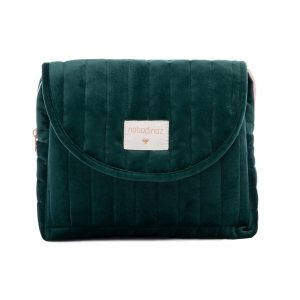 Savanna Velvet Maternity Case Jungle Green van Nobodinoz